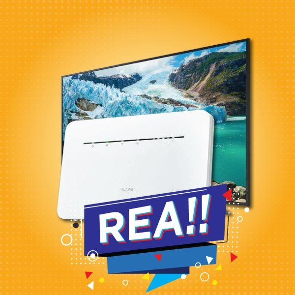 HuaweiB535+TV43